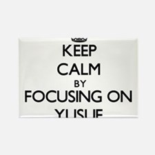Keep Calm by focusing on on Yusuf Magnets