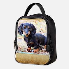 Puppy Love Doxie Neoprene Lunch Bag