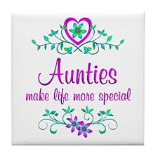 Special Auntie Tile Coaster