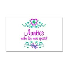 Special Auntie Car Magnet 20 x 12