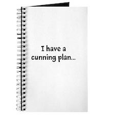 I having a cunning plan... Journal
