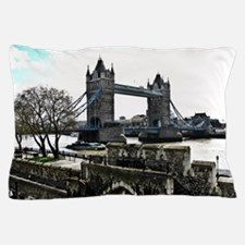 London England Tower Bridge Pillow Case