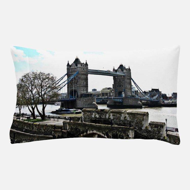 London England Tower Bridge Pillow Case