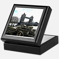 London England Tower Bridge Keepsake Box