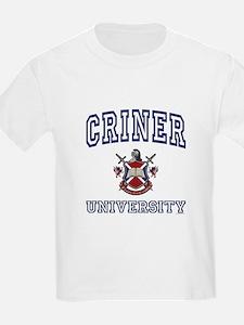 CRINER University T-Shirt
