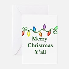 Unique Redneck christmas Greeting Cards (Pk of 20)