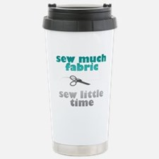 Funny Stitched Travel Mug