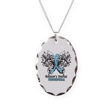 Addisons Disease Necklace Oval Charm