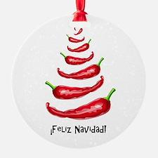 FelizNavidadChiliTree Ornament