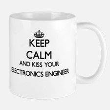 Keep calm and kiss your Electronics Engineer Mugs
