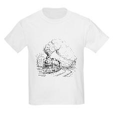 Cute Train design T-Shirt