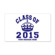 Class Of 2015 Rules Wall Decal