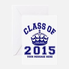 Class Of 2015 Rules Greeting Card