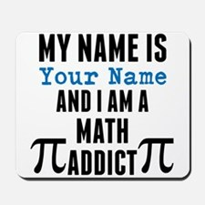 Math Addict Mousepad