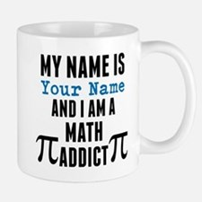 Math Addict Mugs