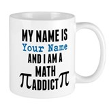 Personalized math Small Mugs (11 oz)