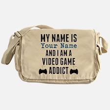 Video Game Addict Messenger Bag