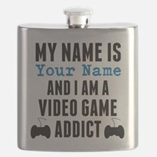 Video Game Addict Flask