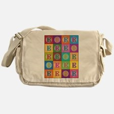 Pop Art C-Clef Alto Clef Messenger Bag