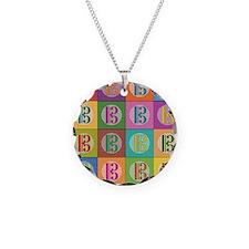 Pop Art C-Clef Alto Clef Necklace