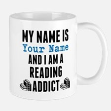 Reading Addict Mugs