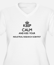 Keep calm and kiss your Industri Plus Size T-Shirt