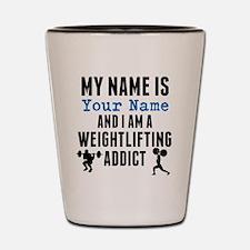 Weightlifting Addict Shot Glass