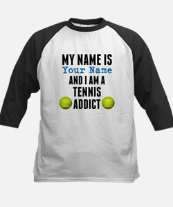 Tennis Addict Baseball Jersey