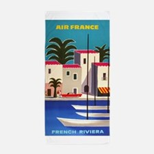 Vintage Air France Poster; French Riviera Beach To