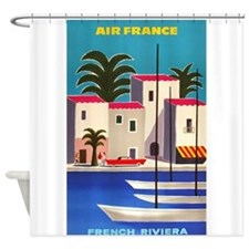 Vintage Air France Poster; French Riviera Shower C