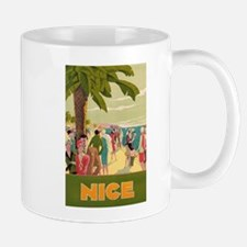 Nice, France, Vintage Travel Poster Mugs