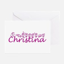Christina Greeting Cards (Pk of 10)