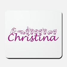 Christina Mousepad
