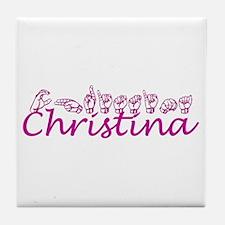 Christina Tile Coaster