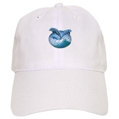 Waves of Dolphins Baseball Cap
