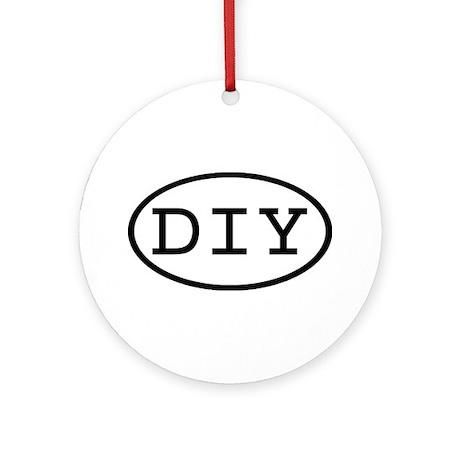 DIY Oval Ornament (Round)