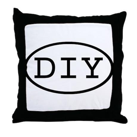 DIY Oval Throw Pillow