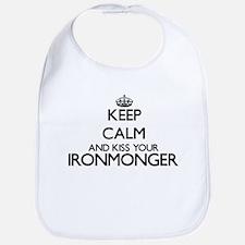 Keep calm and kiss your Ironmonger Bib