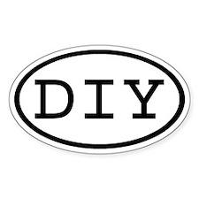 DIY Oval Oval Decal
