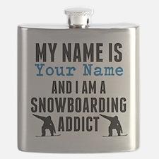 Snowboarding Addict Flask
