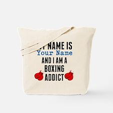 Boxing Addict Tote Bag
