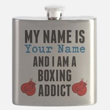 Boxing Addict Flask