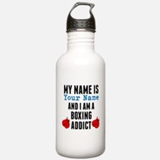 Boxing Addict Water Bottle