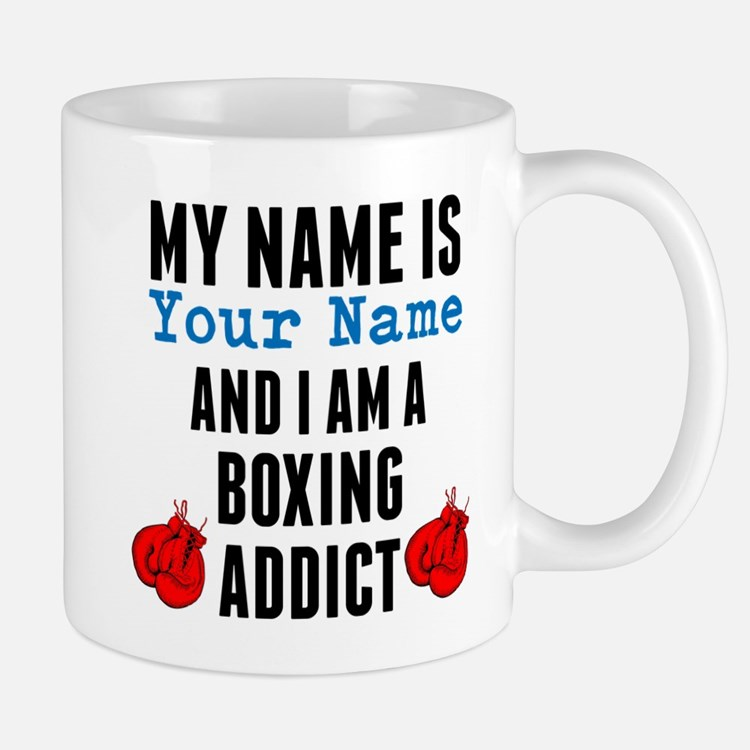Boxing Addict Mugs
