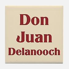 JAYSILENTBOB DON JUAN DELANOOCH Tile Coaster
