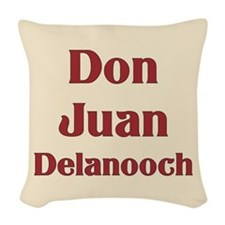 JAYSILENTBOB DON JUAN DELANOOC Woven Throw Pillow