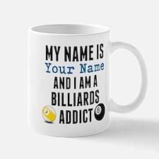 Billiards Addict Mugs