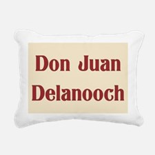 JAYSILENTBOB DON JUAN DE Rectangular Canvas Pillow