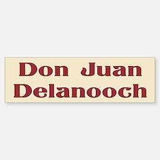 JAYSILENTBOB DON JUAN DELANOOCH Bumper Bumper Sticker
