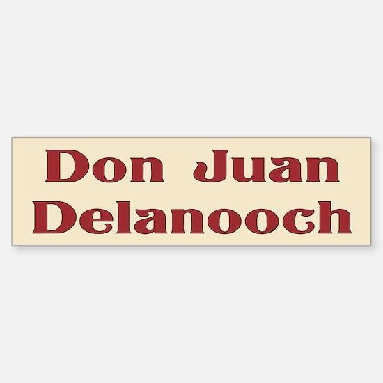 JAYSILENTBOB DON JUAN DELANOOCH Sticker (Bumper)